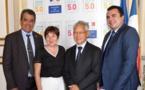 """Fritch demande un """"soutien franc"""" de l'Etat pour la rénovation des aéroports"""