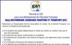 Gan Outre-Mer recrute en CDI son ou sa gestionnaire assurance maritime et transport (H/F)