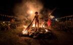 Umu ti, la traditionnelle marche sur le feu au Mahana Park
