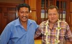CESC: visite de courtoisie du député Bruno Sandras
