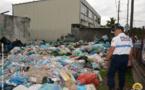 Près de 60 m3 d'ordures vidés d'un terrain d'un particulier