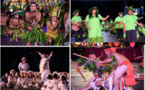 Retour en images sur la soirée du 4 juillet du Heiva i Tahiti