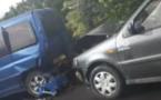 Un blessé grave dans un carambolage à Papeari