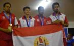 L'or en équipe pour les pongistes tahitiens