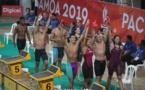 Une semaine riche en émotions pour la natation tahitienne
