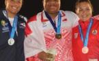 Vaihina Doucet remporte le bronze au lancer de poids