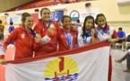 12 médailles, dont 2 en or pour les judokas tahitiens