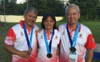 Deux nouvelles médailles pour les tireurs tahitiens