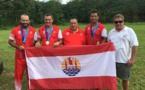 Tahiti, médaille d'or par équipe en tir
