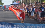 Tahiti en or sur l'aquathlon