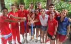 Le triathlon tahitien marque l'histoire