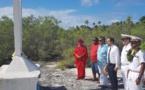 Environnement, culture et recueillement pour Lecornu à Anaa
