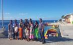 Lecornu en visite sur l'atoll isolé de Taenga