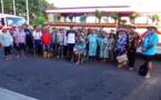 Les matahiapo de Punaauia font le tour de l'île