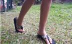 Les savates, c'est pas toujours le pied !