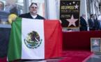 Le réalisateur mexicain Guillermo del Toro inaugure son étoile à Hollywood