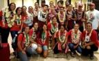 Les basketteuses U17 en bronze aux Océania
