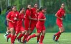 Les Hine Taure'a gagnent 7-0 contre les Samoa Américaines