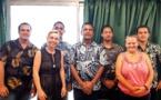 Quatre futurs agents d'inspection sanitaire en formation à l'Infoma