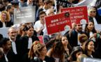 Retraites: les avocats défilent en masse à Paris pour conserver leur régime