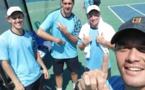 Le team Pacific gagne la Coupe Davis
