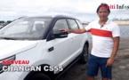 Essai du nouveau SUV Changan CS55 avec Marama Vahirua
