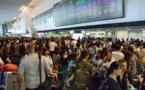 Le typhon Tapah menace le Japon, des centaines de vols intérieurs annulés