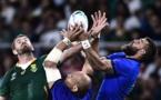 Les Springboks privés de mêlée mais pas de bonus face à l'Italie
