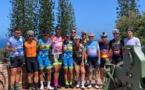 Une délégation tahitienne au Tour de Nouvelle-Calédonie