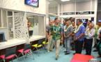 Le nouveau siège high tech de la Polynésienne des Eaux