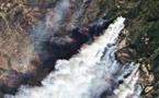 Les ruines de Sonoma, au hasard des braises portées par le vent en Californie