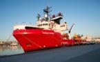 Ocean Viking: débarquement d'une centaine de migrants secourus en Méditerranée