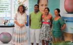 Les heureux gagnants du jeu « concours de la plus belle perle de Tahiti 2011 » en séjour en Polynésie