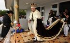 Le roi de Tonga reçu en audience par le Pape Benoît XVI