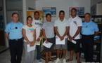 Cinq polynésiens s'envolent pour l'école de gendarmerie de Tulle