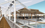 Inauguration de la gare maritime de Papeete