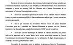 TAHOERAA: mise au point au propos des investitures UMP et du soutien à Villepin