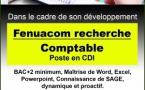 FENUA COMMUNICATION RECRUTE COMPTABLE