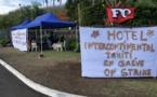 Une grève peu suivie à l'InterContinental Tahiti