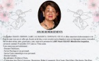 AVIS DE REMERCIEMENTS - FAMILLE CHANZY - LAMY