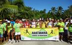 Raid Vanira:200 raideurs participent à une course en montagne sur l'île vanille
