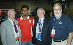 Boxe: 1ers Océania Cadets / Juniors à Tahiti en Septembre 2012