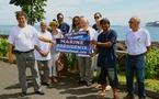 """Présidentielles : les partisans de """"La vague Bleu Marine"""""""