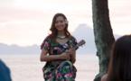 Vaimalama en actrice ce samedi dans Meurtres à Tahiti