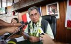 Oscar Temaru demande à sa population de soutenir ses démarches à l'ONU
