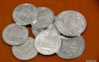 Pénurie de pièces de 1 et 2 Fcfp