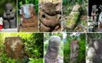 Les plus beaux anciens tiki des Marquises