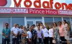 Vodafone Prince Hīnoi prêt à vous accueillir