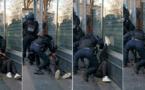 Le manifestant frappé au sol déféré pour violences sur policier, selon ses avocats