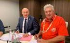 La Fédé polynésienne de rugby renoue avec la Fédé française
